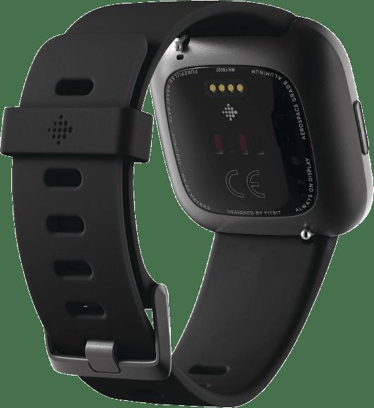 Schwarz Fitbit Versa 2.4