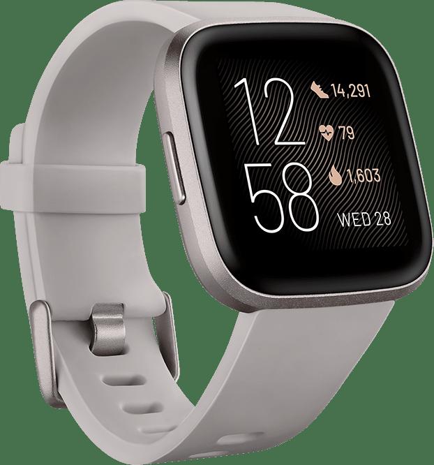 Stone Fitbit Versa 2 Smartwatch.1