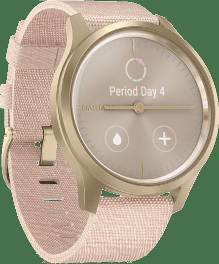 Erröten Rosa Garmin Vivomove Style Armbanduhr.3