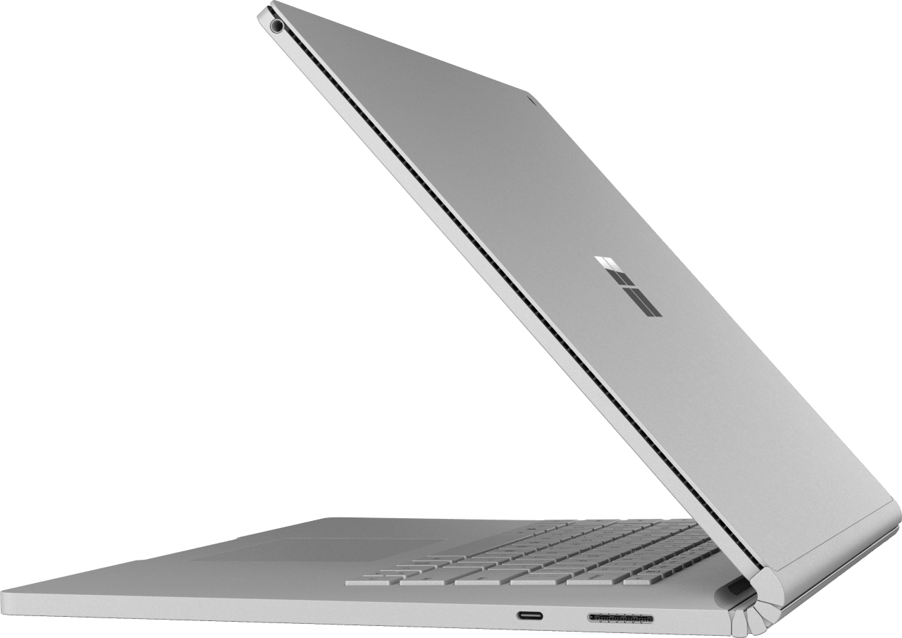 "Silber Microsoft Surface Book 2 15"".3"