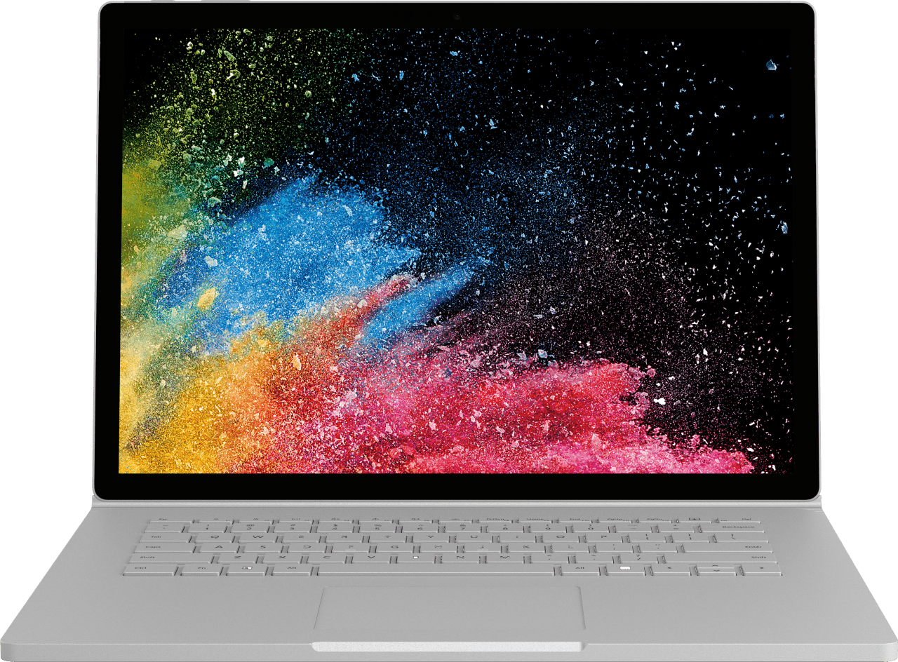 "Silver Microsoft Surface Book 2 15"".2"