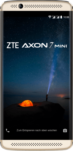 Gold ZTE Axon 7 Mini 32GB.1