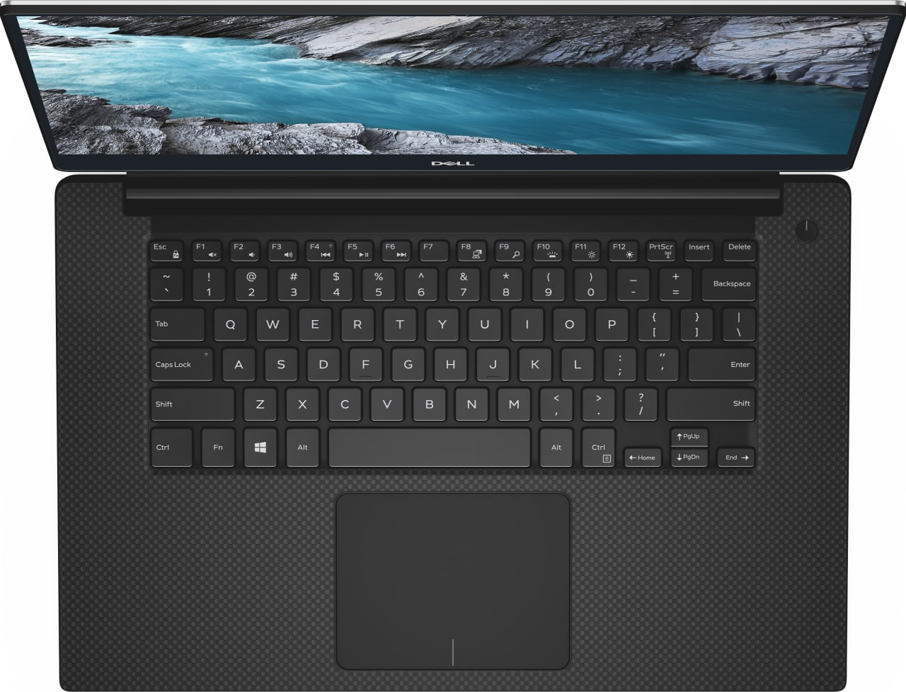 Schwarz / Silber Dell XPS 15 7590 Touch.4