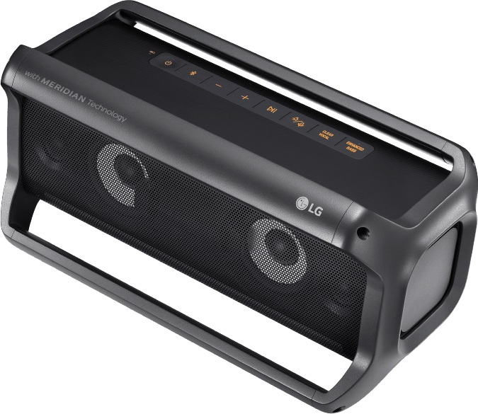Black LG PK7 Bluetooth Speaker.3