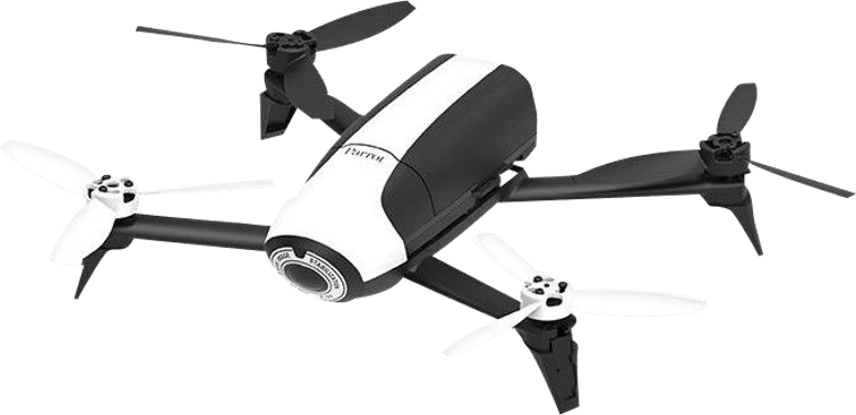 White Parrot Bebop 2 FPV Drone + Skycontroller.1