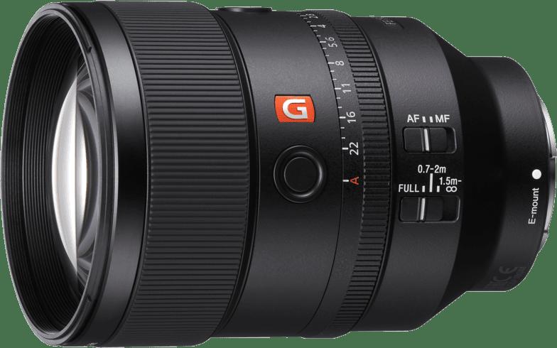 Schwarz Sony SEL 135mm f/1.8 G-Master.1