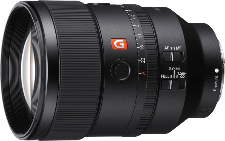 Black Sony SEL 135mm f/1.8 G-Master.1