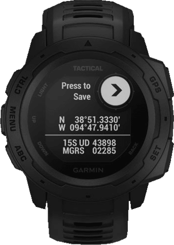 Black Garmin Instinct® - Tactical Edition.3