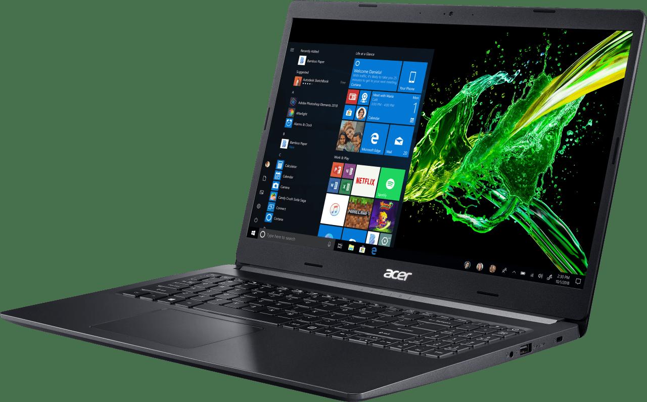 Black Acer Aspire 5.2