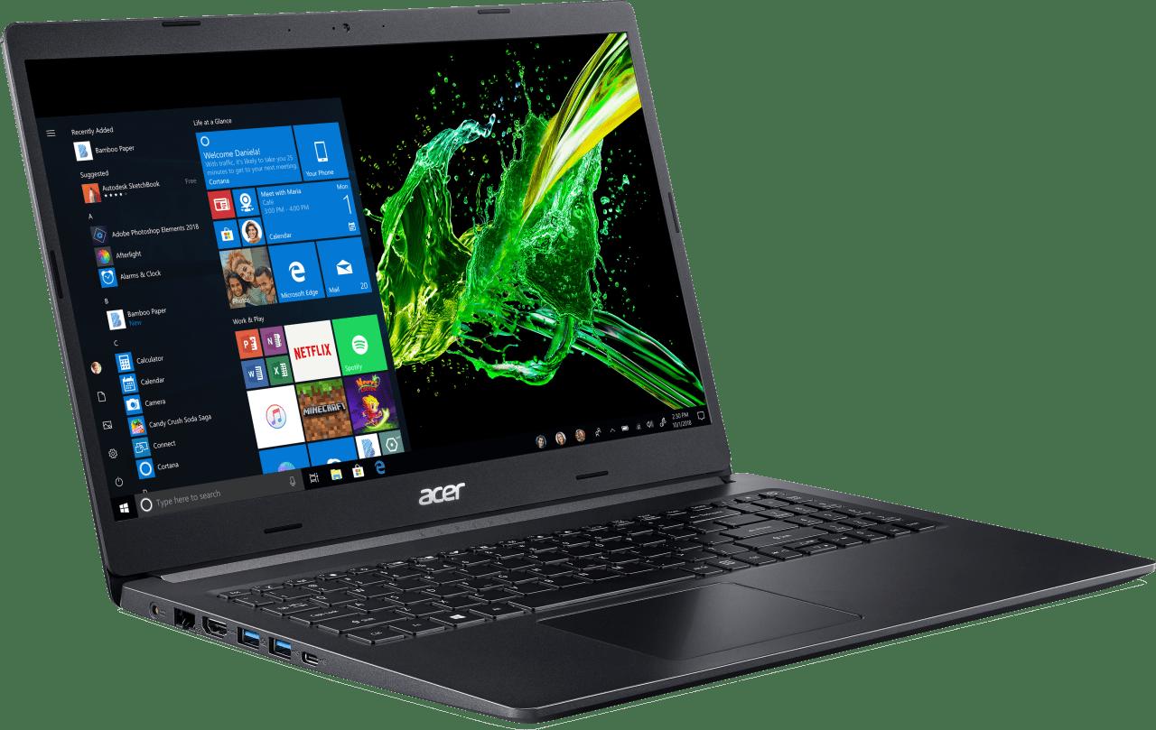 Black Acer Aspire 5.3
