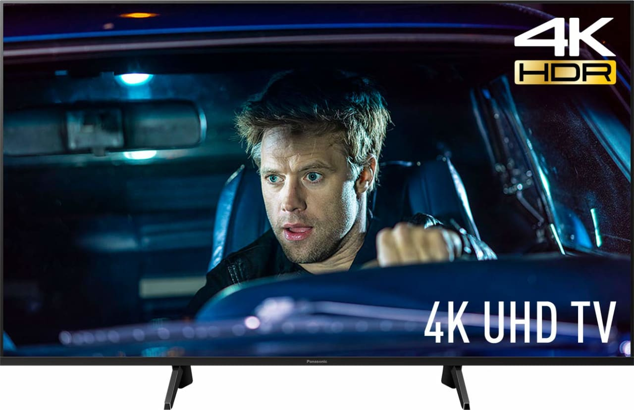 "Black Panasonic TV 58"" GXW704.1"