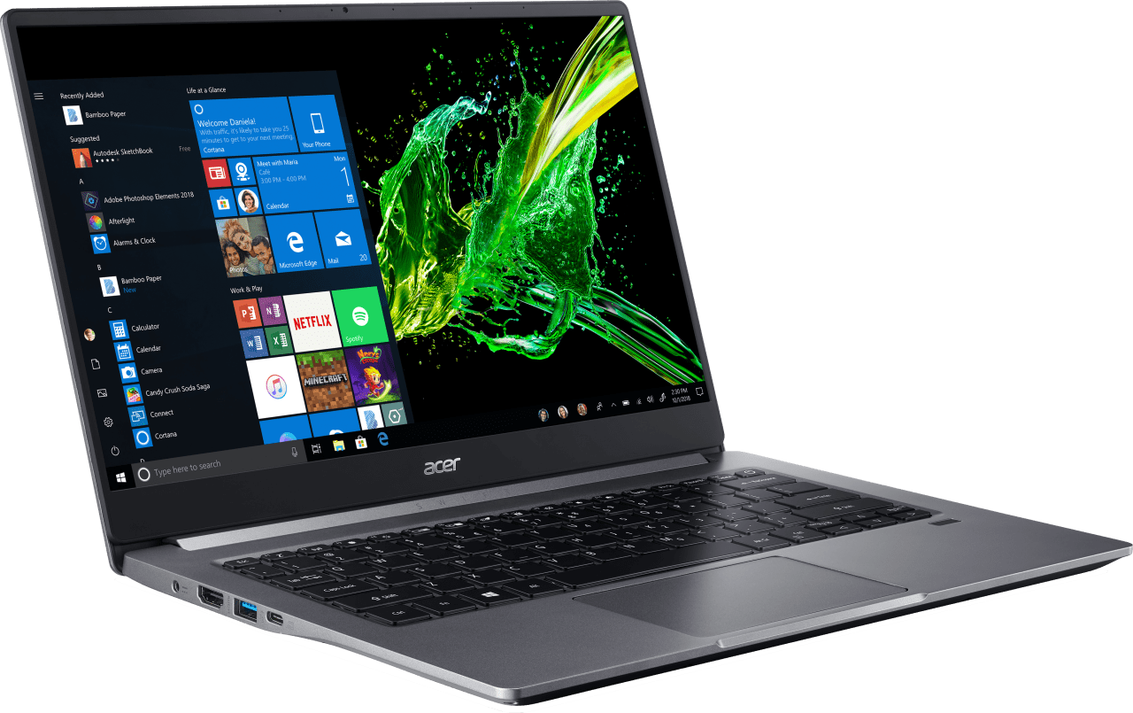 Still Grey Acer Swift 3 SF314-57G-58VN.4