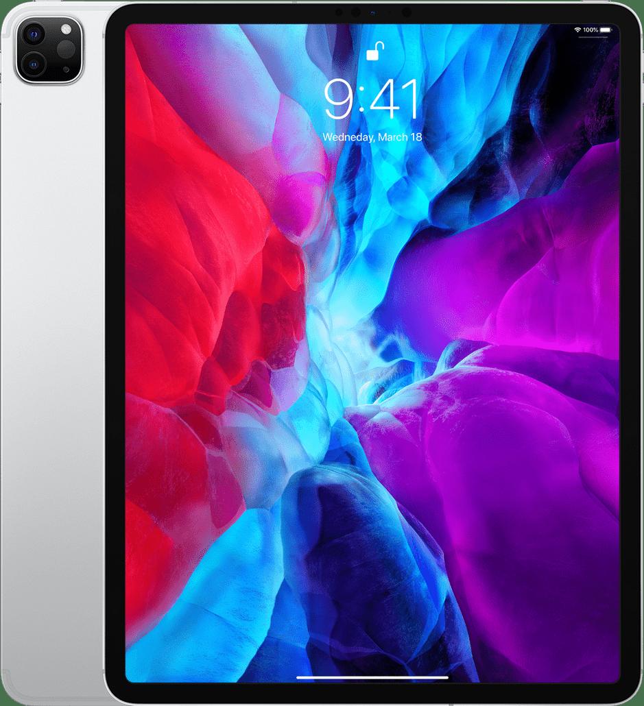 "Silver Apple 12.9"" iPad Pro Wi-Fi + LTE 128GB (2020).1"