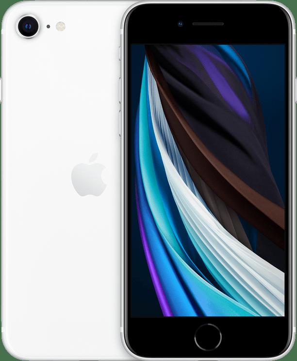 White Apple iPhone SE 64GB (2020).1