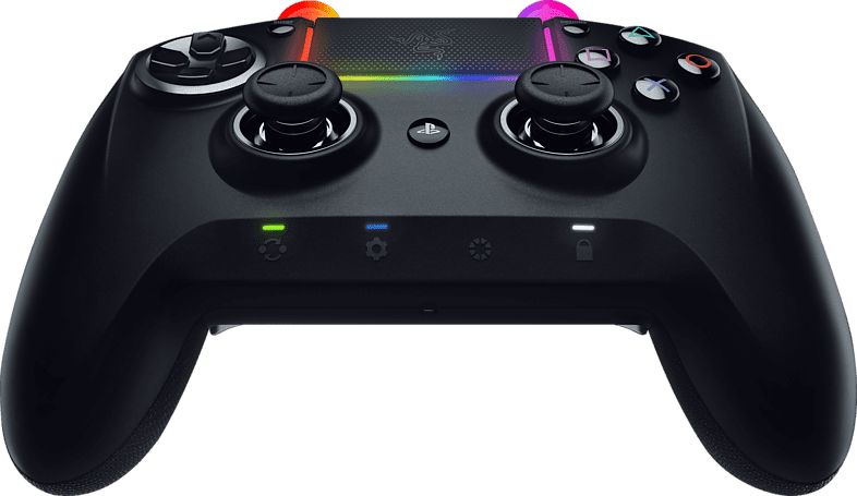 Black Razer Raiju Ultimate 2019 Controller.2