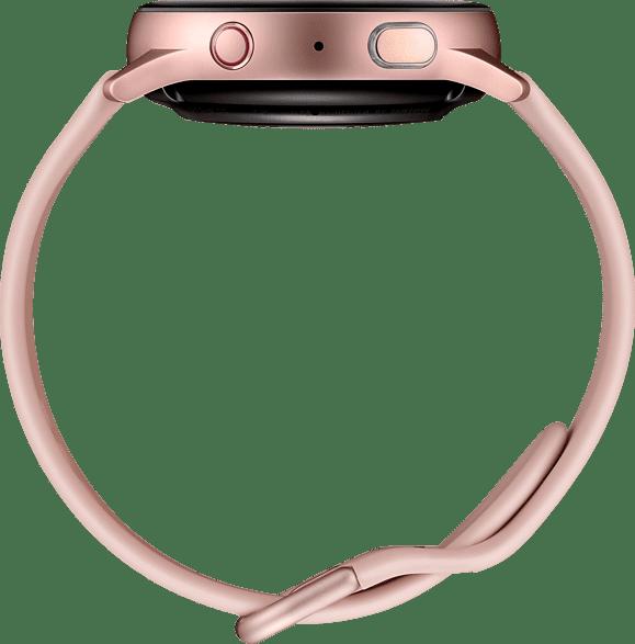 Roségold Samsung Galaxy Watch Active2 LTE, 40 mm Aluminium-Gehäuse, Sportarmband.4