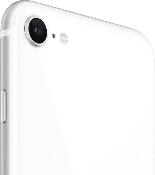 White Apple iPhone SE 64GB (2020).3