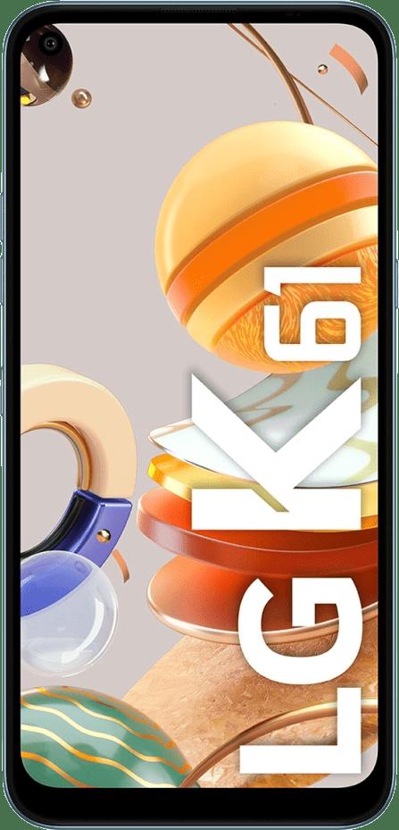 Weiß LG K61 128GB.1