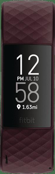 Rosenholz Fitbit Charge 4 Aktivitäts-Tracker.1