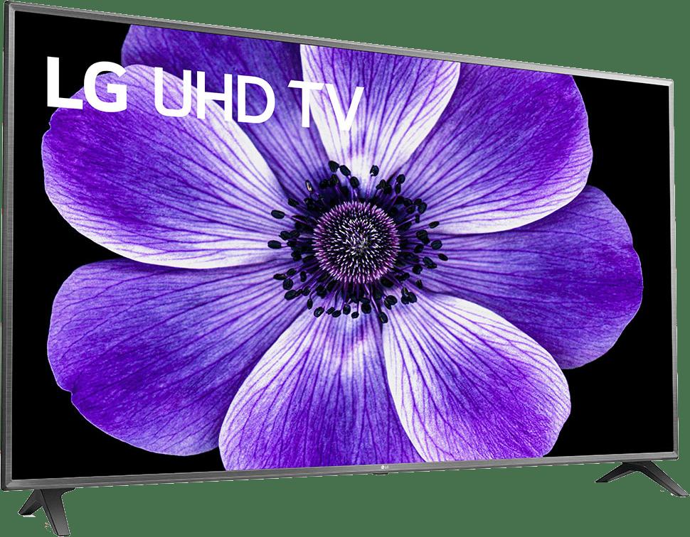 """Black LG TV 75"""" UN71.2"""