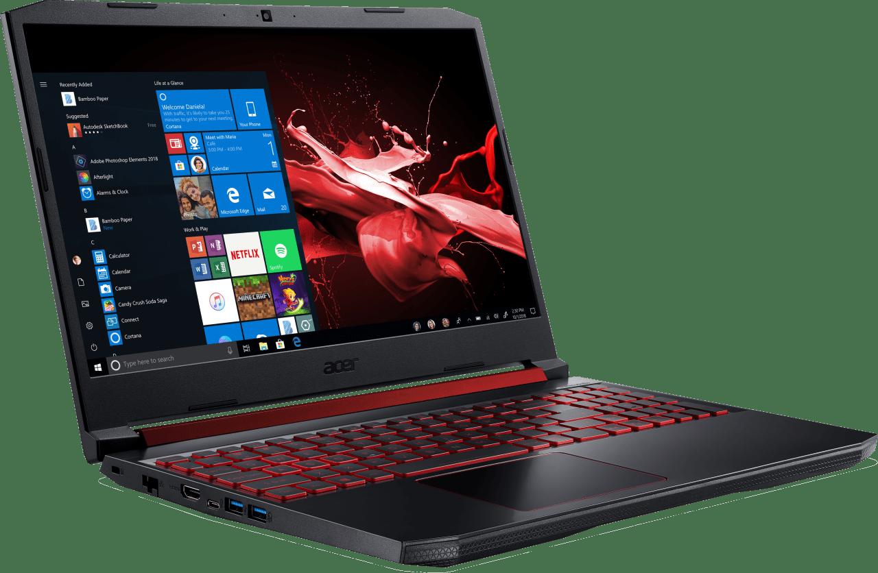 Black / Red Acer Nitro 5 AN515-43-R5KH.3