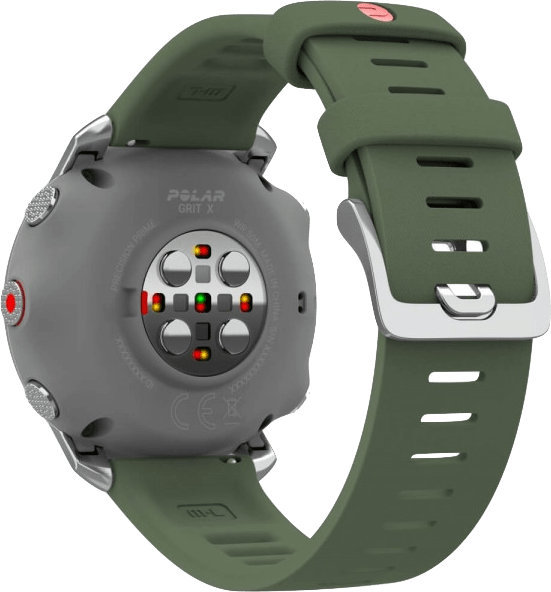 Green Polar Grit X GPS Sports watch, M/L.4