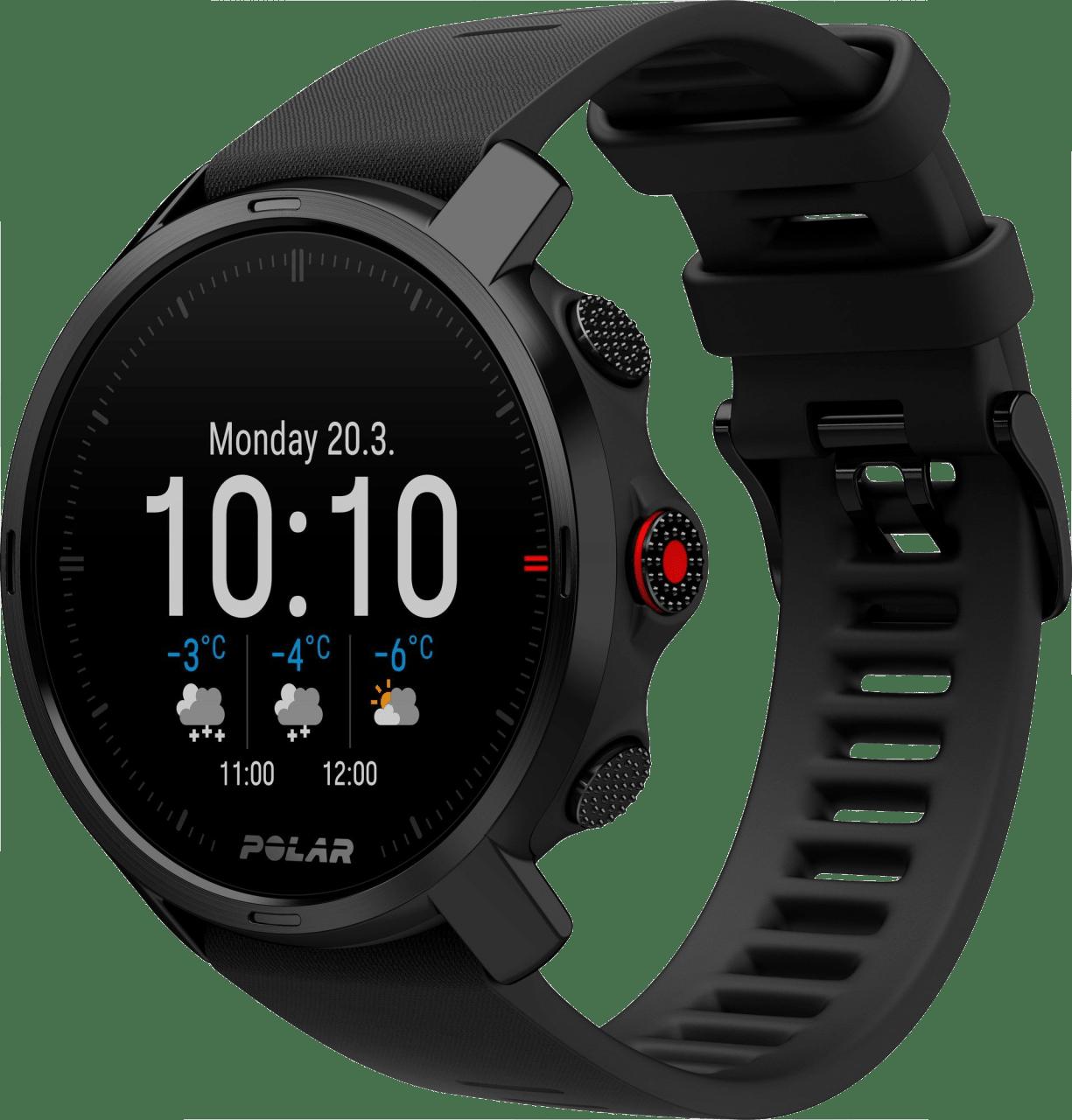 Black Polar Grit X GPS Sports watch, M/L.3