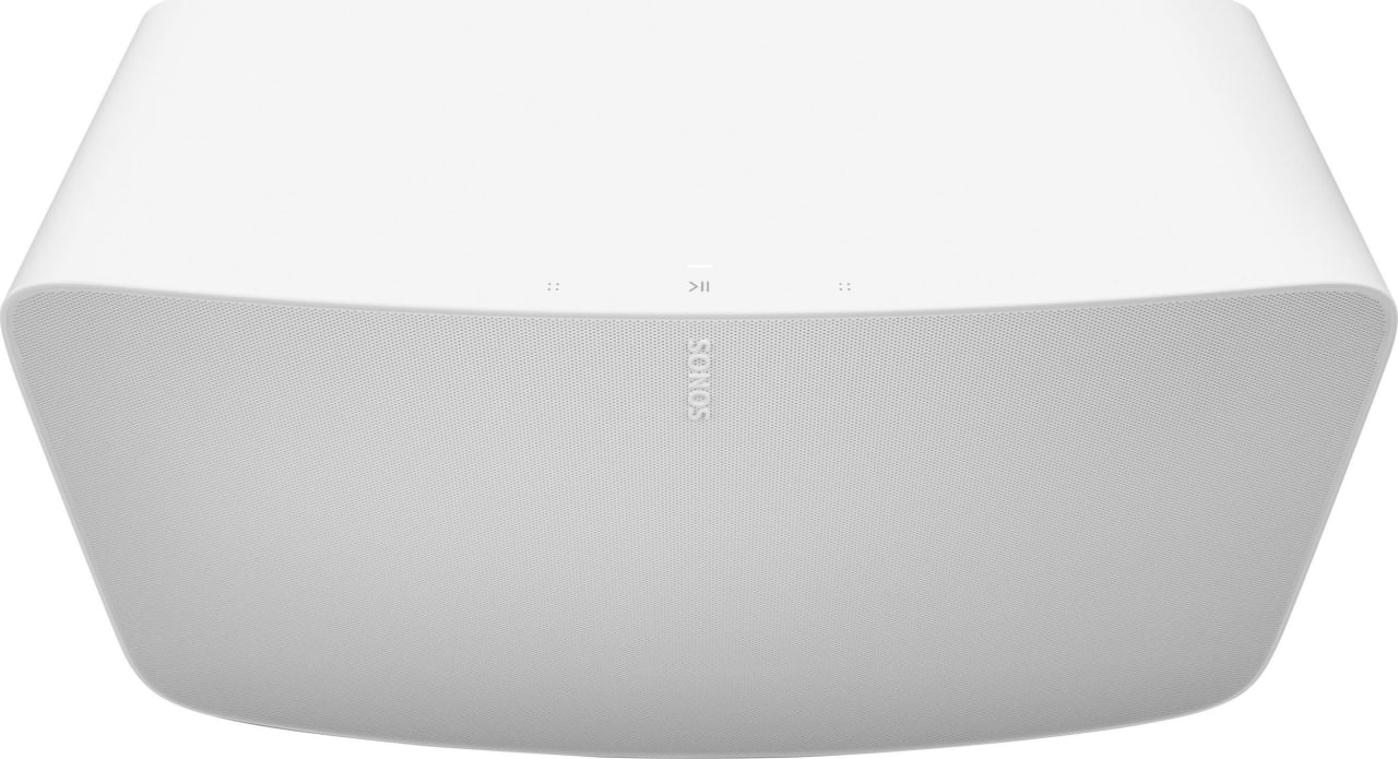 White Sonos Five.4