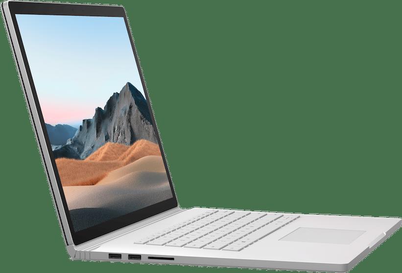 "Platinum Microsoft Surface Book 3 15"".2"