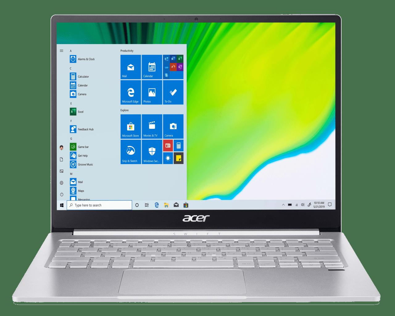 Silber Acer Swift 3 SF313-52-5882.1