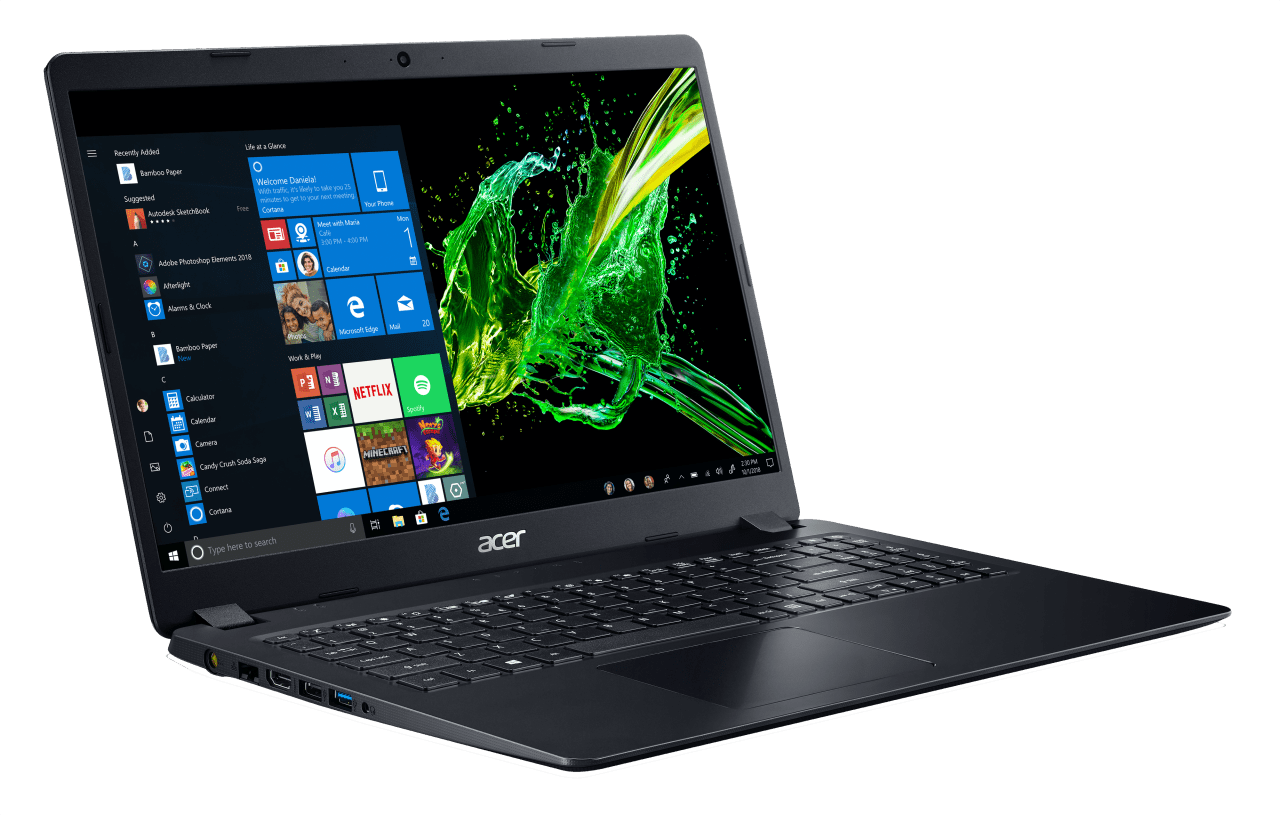 Schwarz Acer Aspire 5 A515-43G-R0HD.3