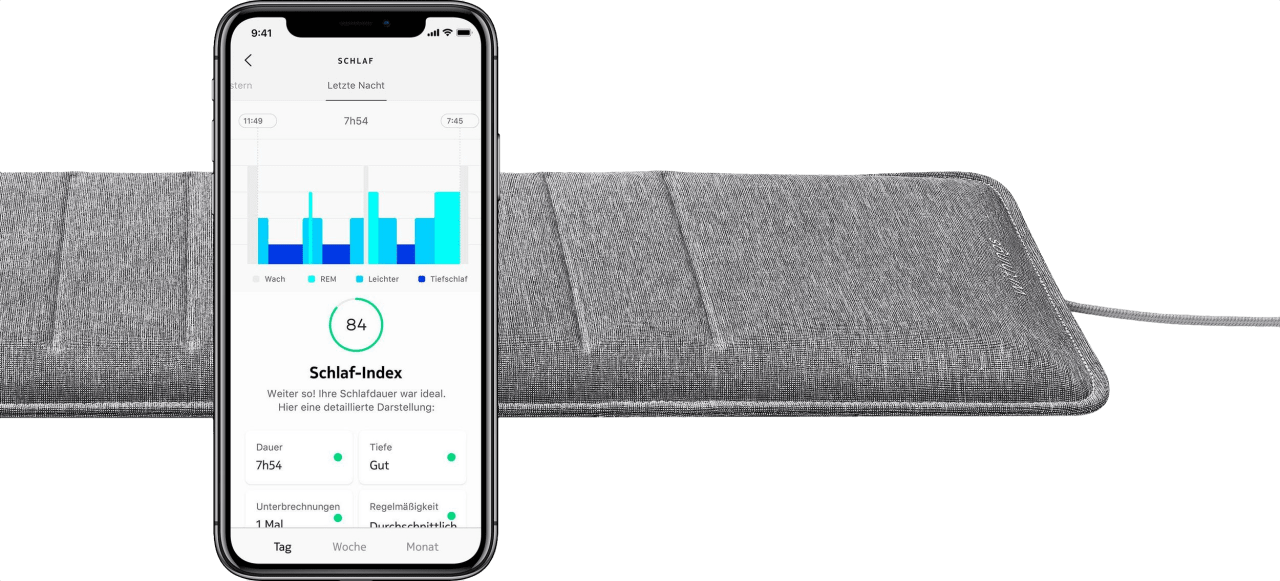 Silber Withings Sleep Analyzer.2
