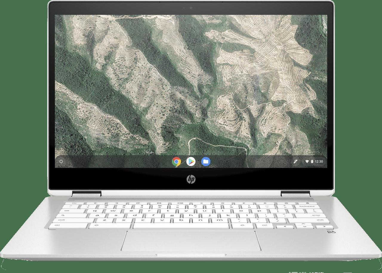 Natural Silver HP Chromebook 14b-ca0250ng Laptop - Intel® Pentium® Silver-N5000 - 8GB - 128GB eMMC - Intel® UHD Graphics.2