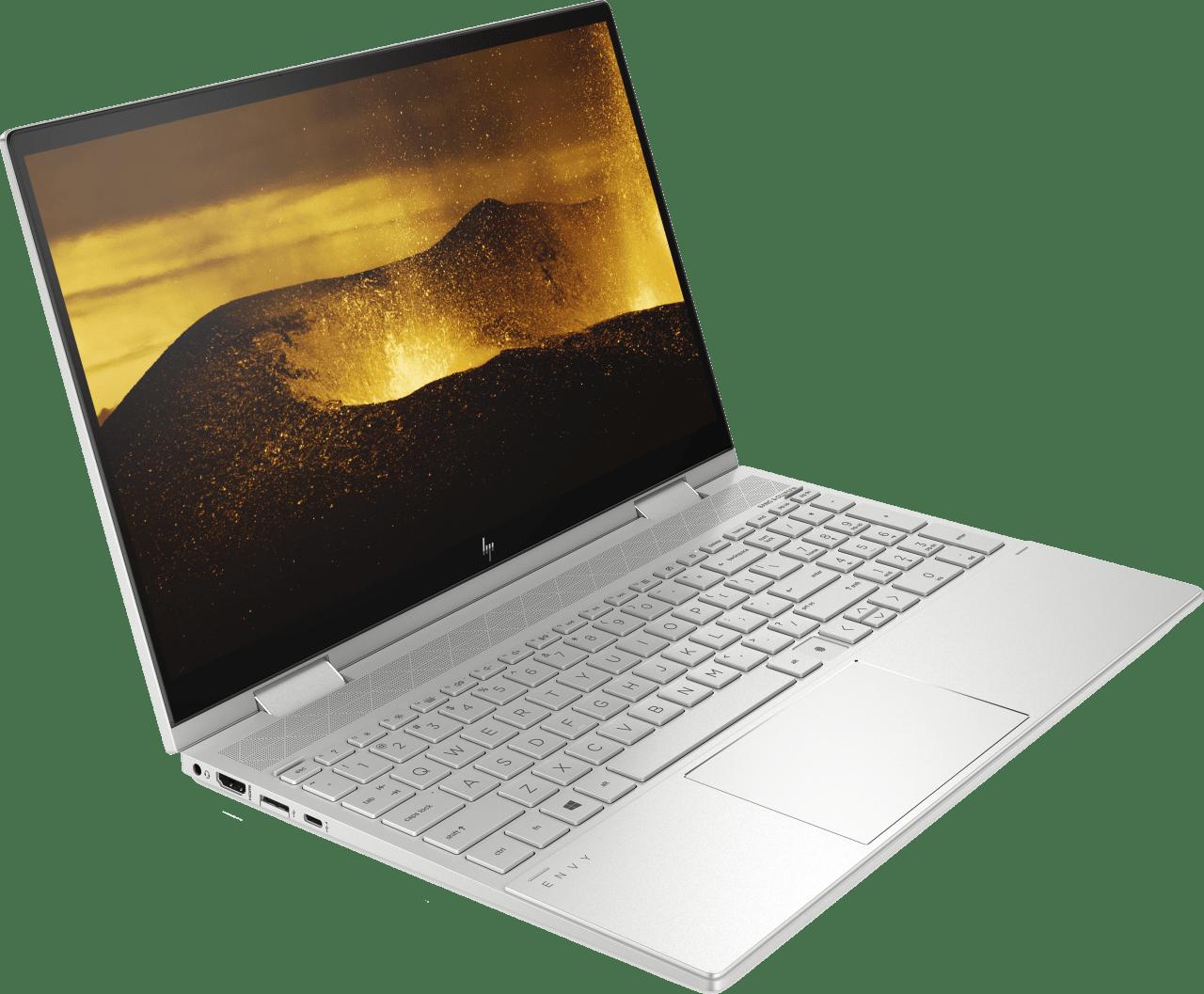 Natural Silver HP Envy x360 15-ed0272ng 2in1 - Intel® Core™ i7-1065G7 - 12GB - 512GB PCIe - Intel® UHD Graphics.3