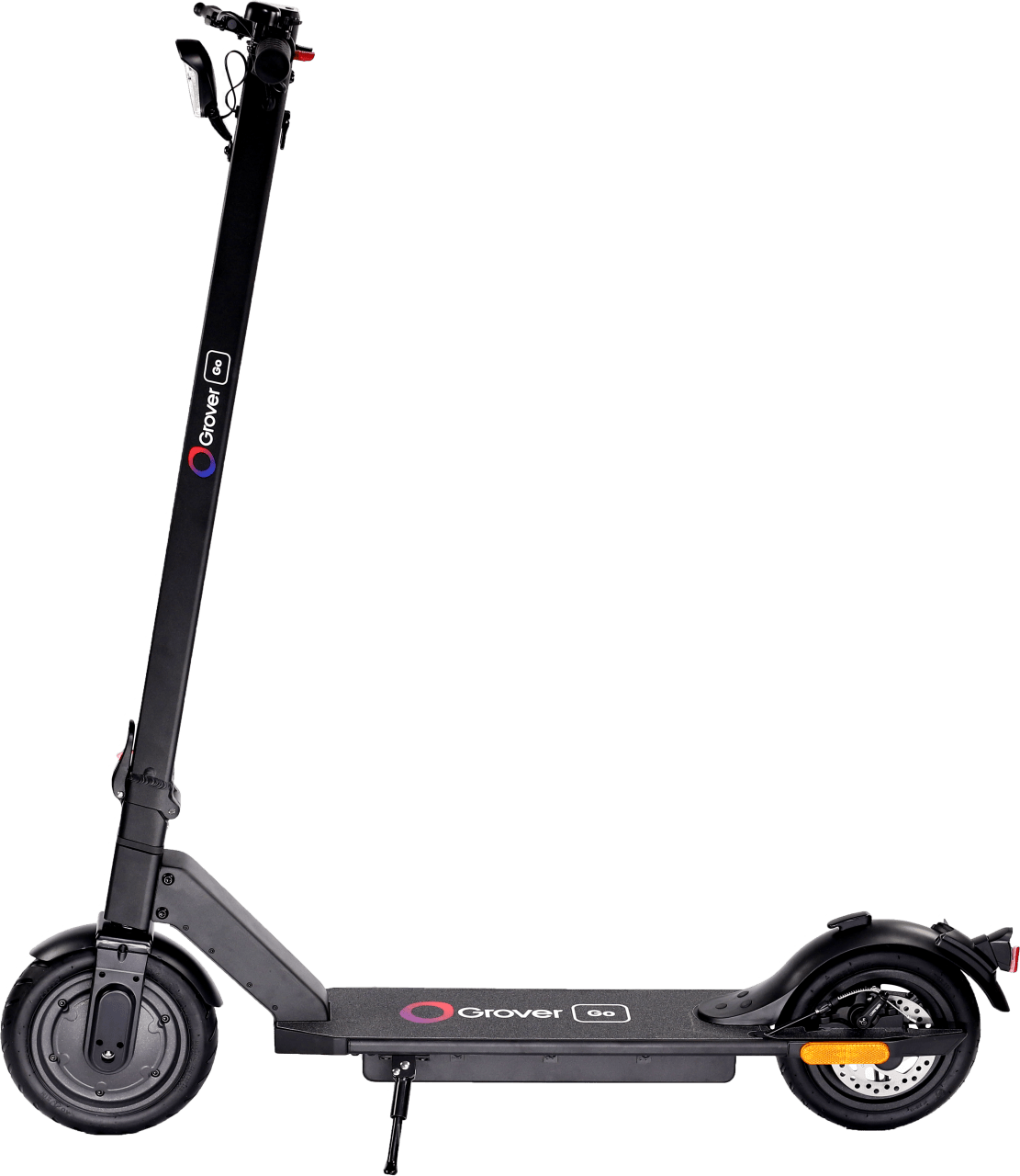 Schwarz GroverGo Scooter.4