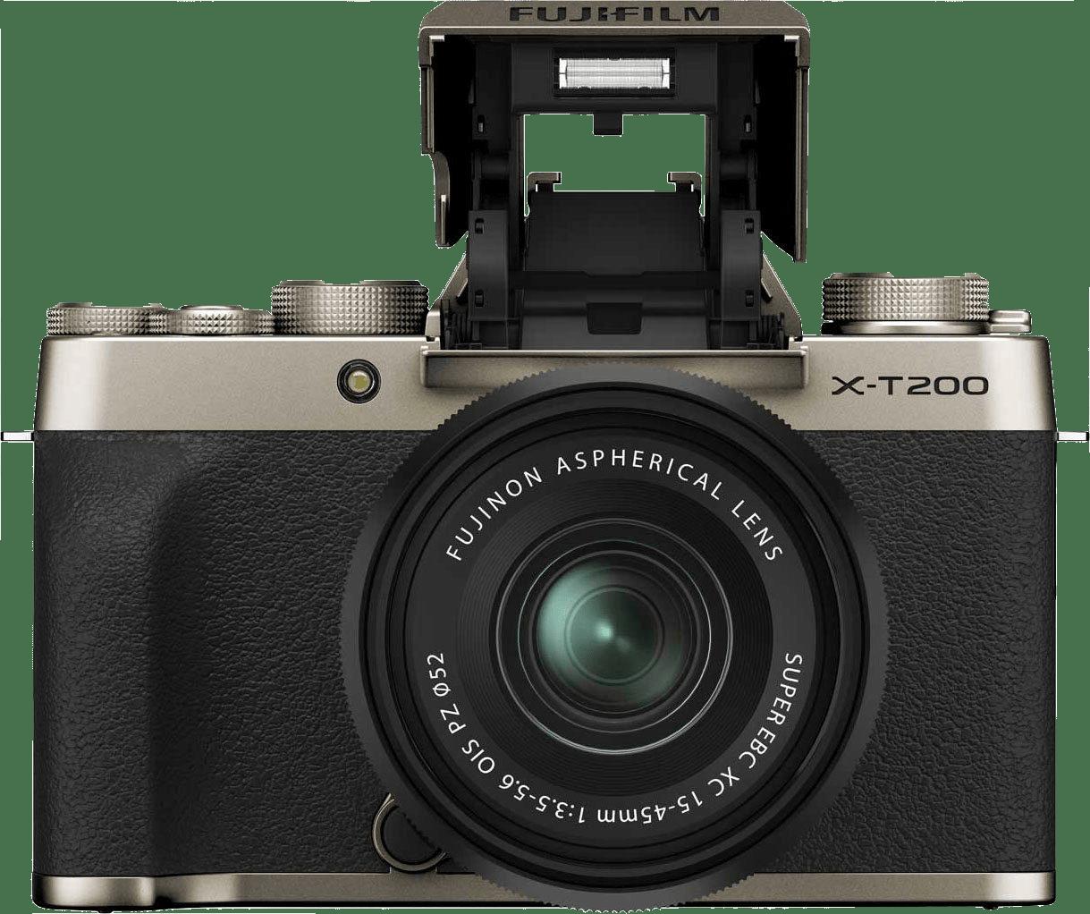 Gold FUJIFILM X-T200 (XC 15-45mm Lens).1