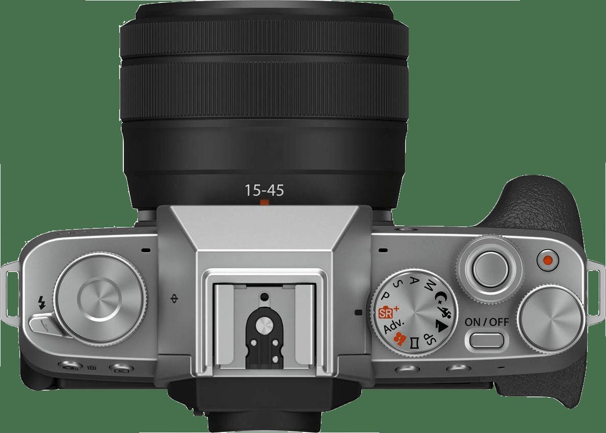 Silber FUJIFILM X-T200 (XC 15-45mm Lens).4