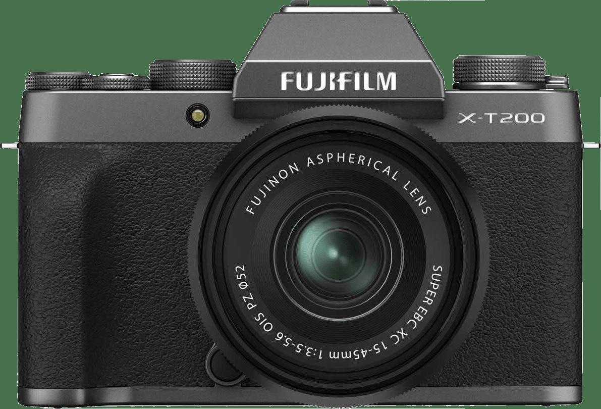 Dark Silver FUJIFILM X-T200 (XC 15-45mm Lens).4