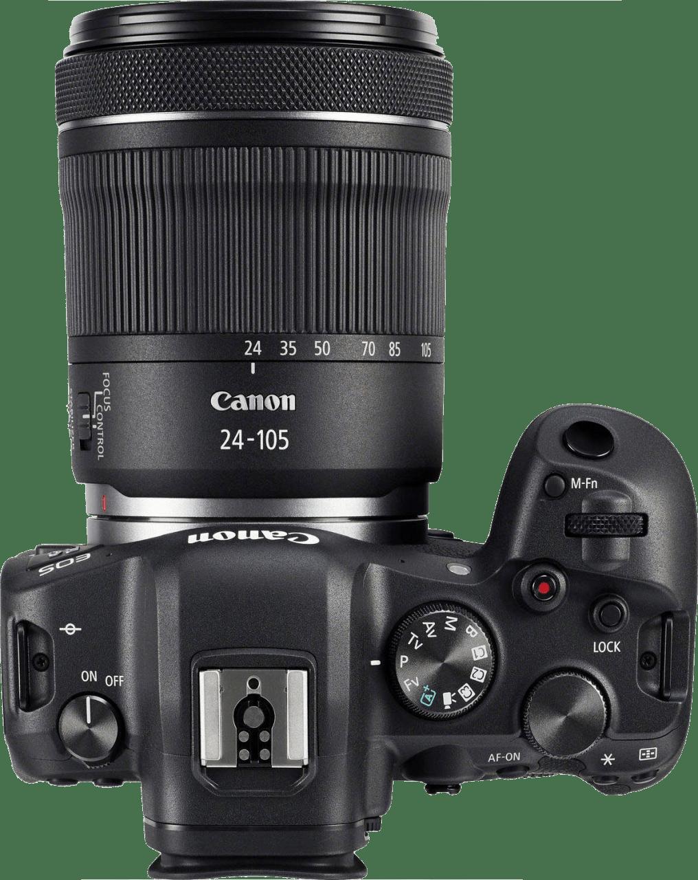 Black Canon EOS R6 + RF 24 - 105mm Lens Kit.4
