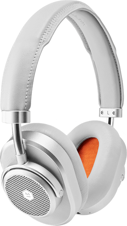Silver/Gray Master & Dynamic MW65 Noise-cancelling Premium Over-ear Bluetooth Headphones.1
