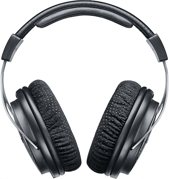 Black Shure SRH1540 Over-ear Bluetooth Headphones.2