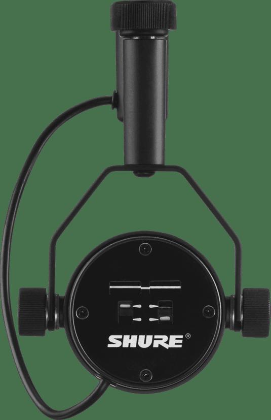 Black Microphone Shure SM7B.2