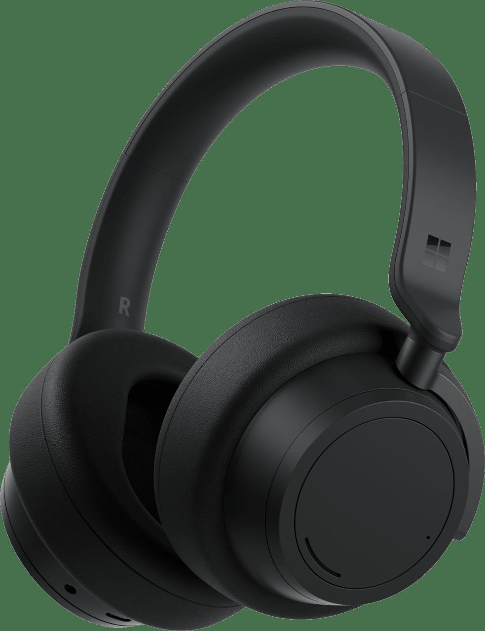 Black Microsoft Surface 2 Over-ear Bluetooth Headphones.1