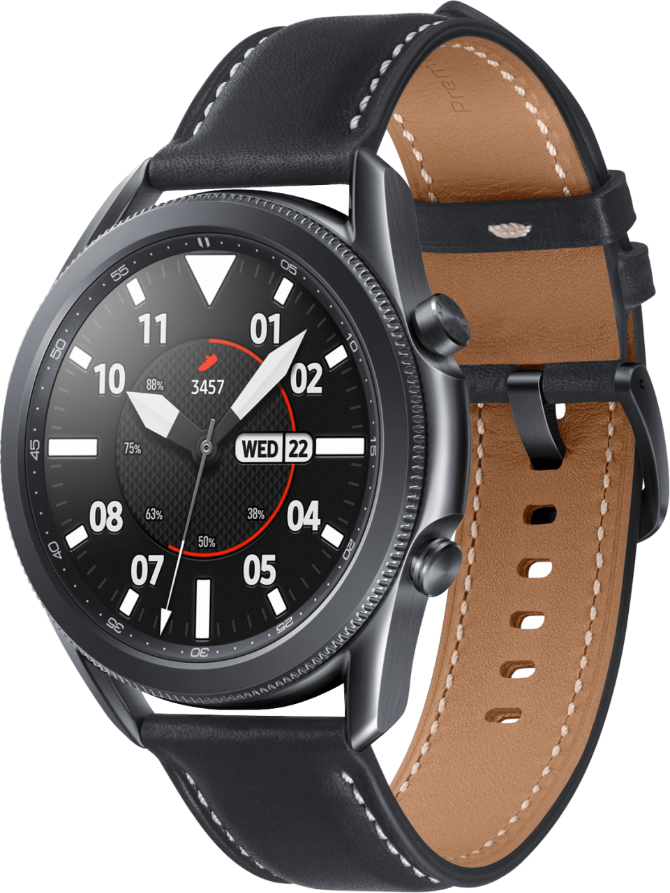 Mystic Black Samsung Galaxy Watch 3, 45mm.1