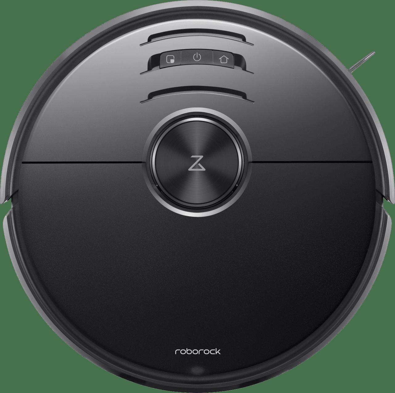 Black Roborock S6 MaxV Vacuum & Mop Robot Cleaner.1