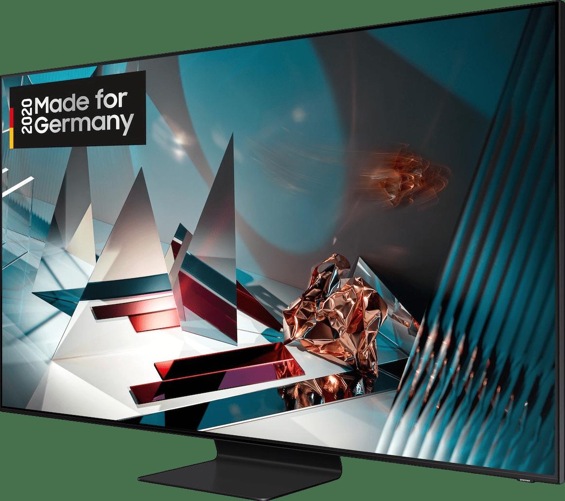 "Black Samsung TV 65"" Q800T.2"