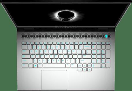 White Alienware m17 R3.3