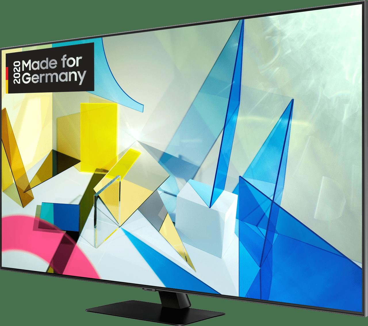 "Black Samsung TV 65"" Q80T.2"