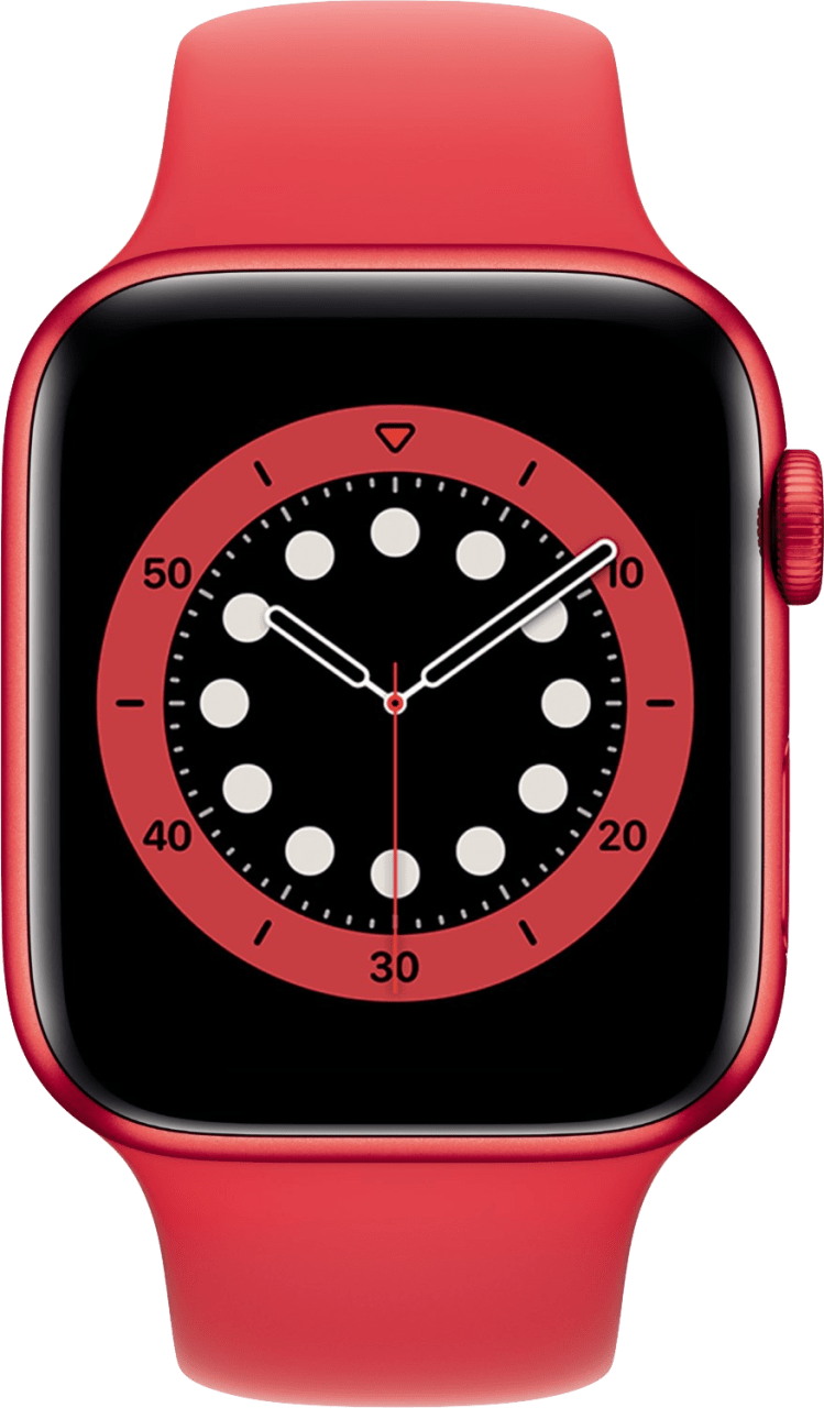 Red Apple Watch Series 6 GPS, 44mm Aluminium case, Sport band.2