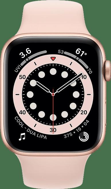 Sand pink Apple Watch Series 6 GPS + Cellular , 44mm Aluminium case, Sport band.2